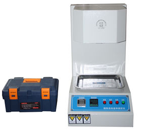 الصين High Precision Temperature Control Melt Flow Rate Tester Easy Operation المزود