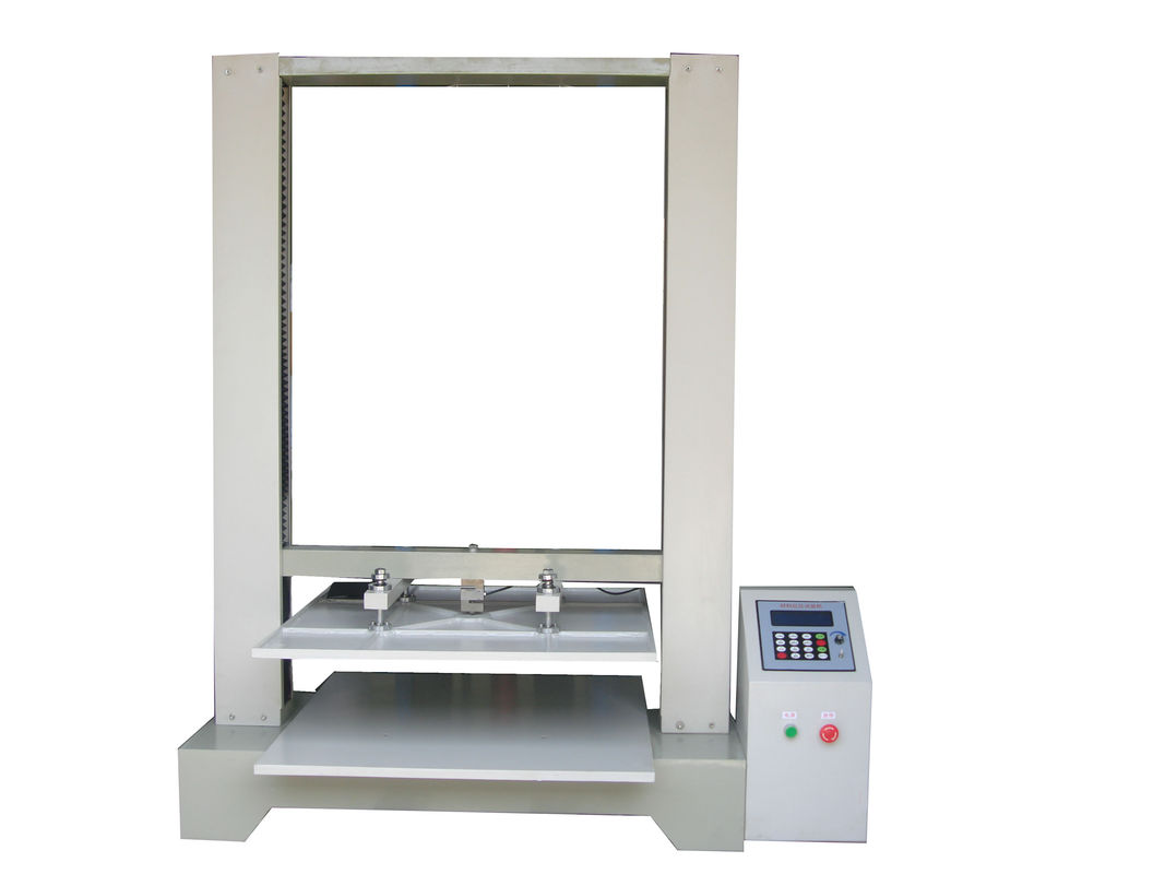 Micro Computer Paper Testing Equipments For Carton Compression Resistance Test