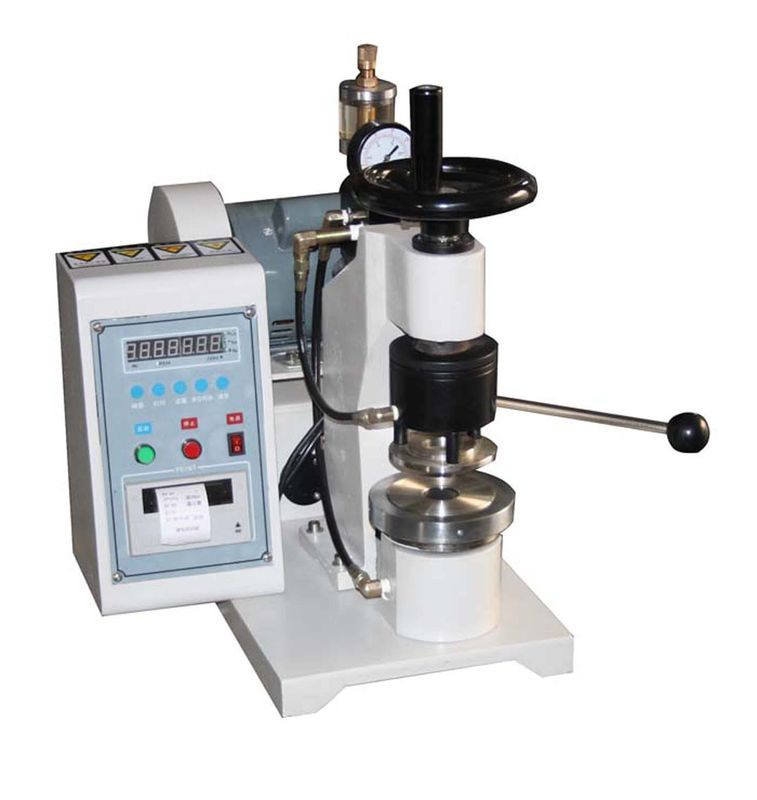 High Pressure Paper Testing Equipments , Manual Bursting Strength Tester