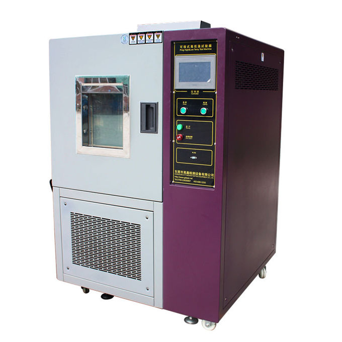 LCD Touch Screen 80 - 1000L High and Low Temperature Programmable Temperature Environmental Test Chamber